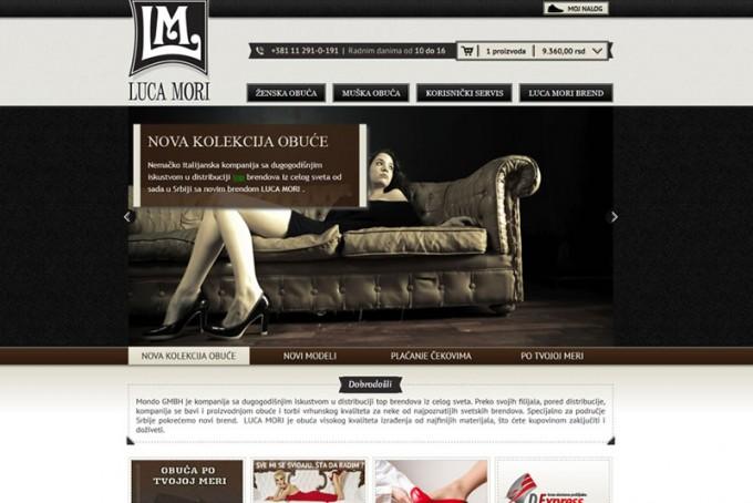 Izrada online prodavnice obuce