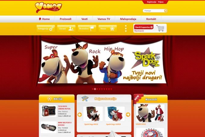 Izrada Internet prodavnice za prodaju decjih igracaka