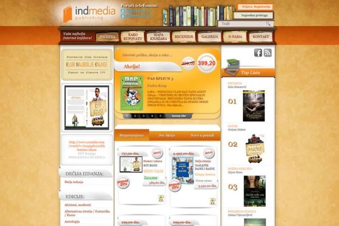 Izrada online knjizare