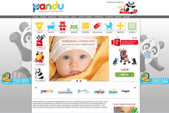Izrada Internet prodavnice za decu