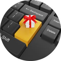 Izrada Internet prodavnice - opcija pokloni prijatelju